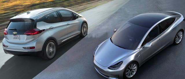 Tesla Model 3 Chevy Bolt Battery Packs Examined