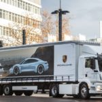 Porsche is getting a new all-electric truck for Taycan production